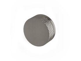 Milli Pure Progressive Shower / Bath Mixer Tap with Diamond Textured Handle Brushed Gunmetal