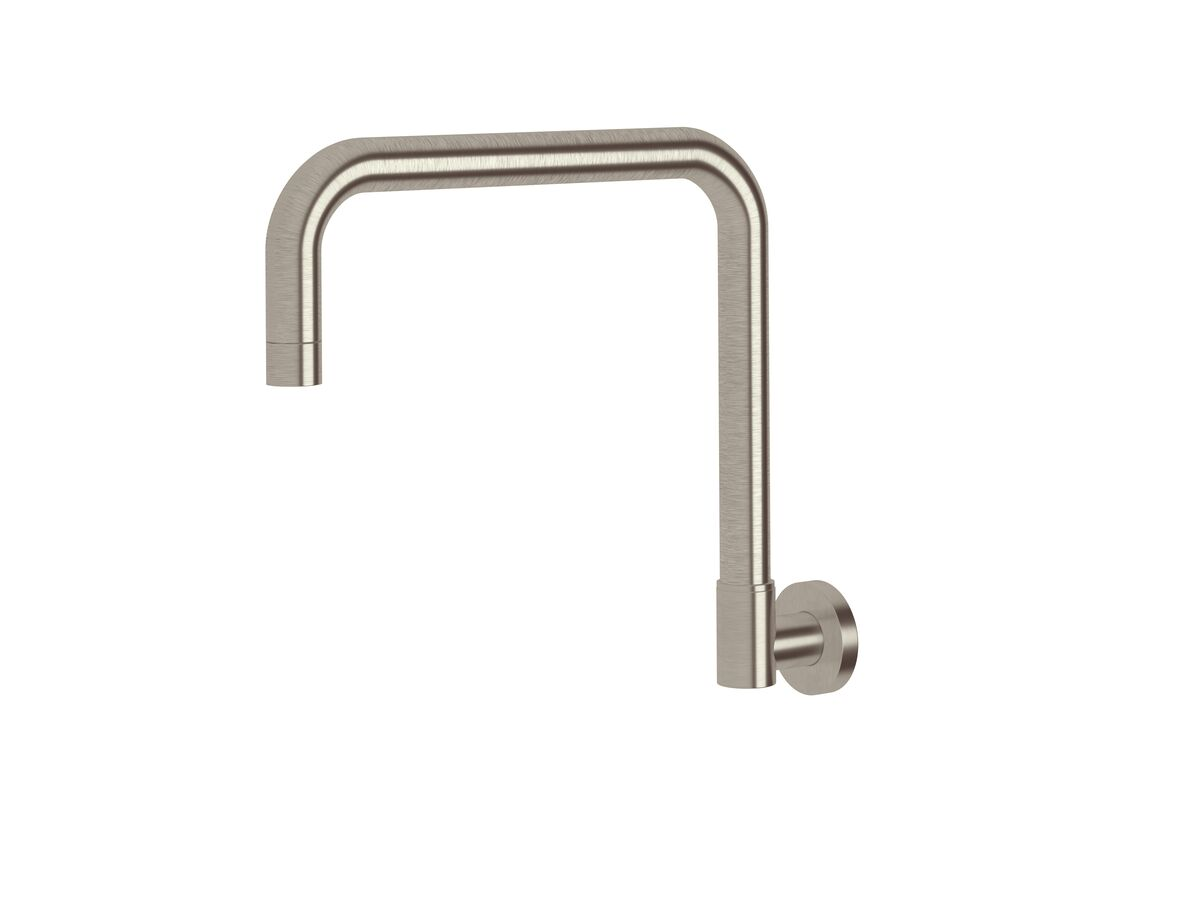 Scala Wall Spa Outlet Square LUX PVD Brushed Oyster Nickel