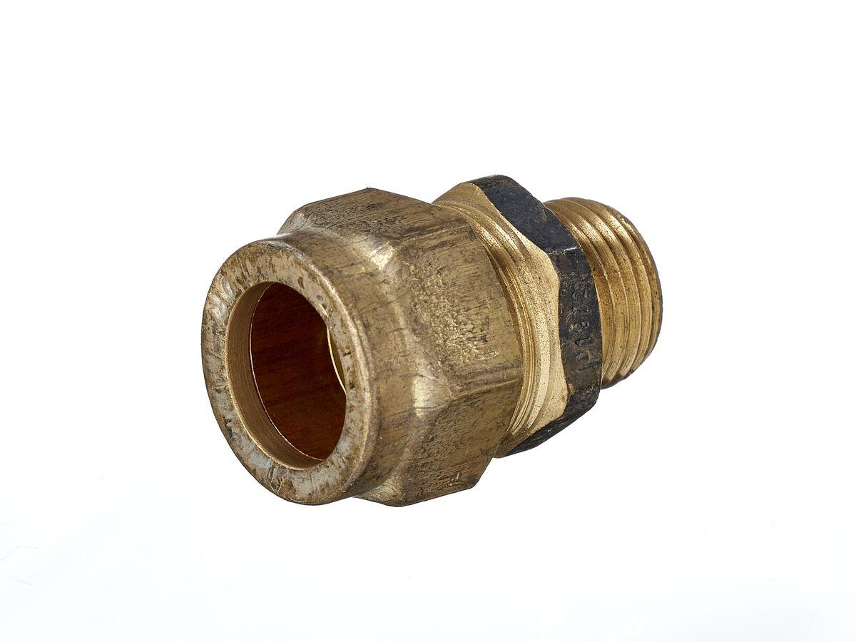 Copper Olive Union 15Mi x 20C