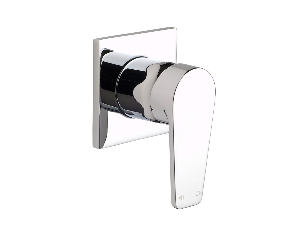 Yeva Shower Mixer with Square Plate Chrome