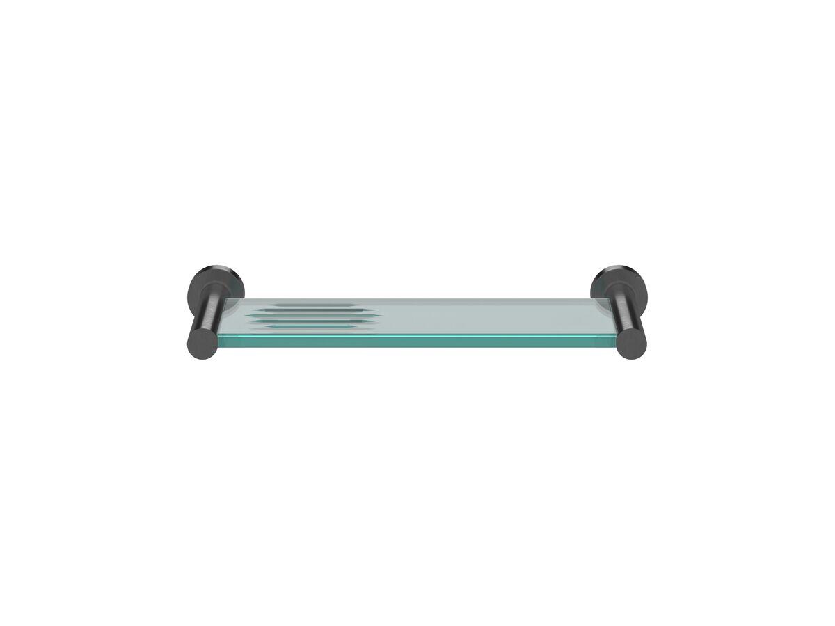 Scala Shower Shelf LUX PVD Brushed Smoke Gunmetal