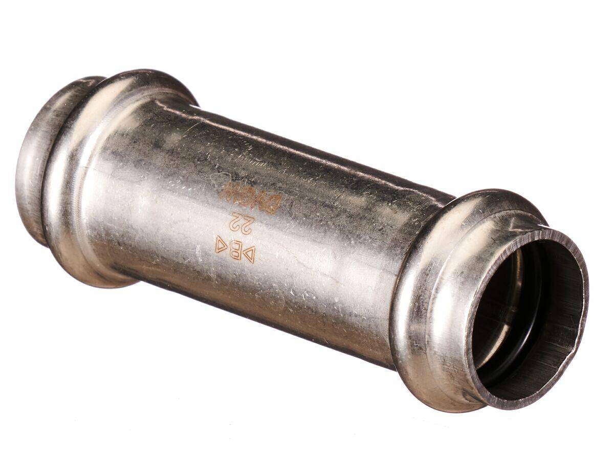 B-Press Stainless Steel Slip Coupling 22mm
