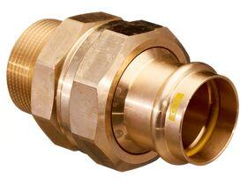 ">B< Press Gas Male Union 40mm x 1 1/2"" BSP"""