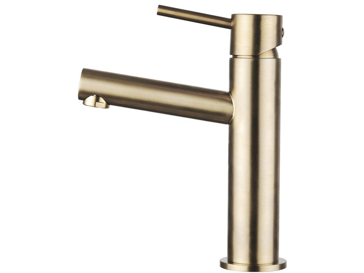 Mizu Drift MK2 Basin Mixer Tap Brushed Gold (5 Star)