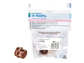 """>B< Maxipro Stop End 1"""" Bag of 1"""""""