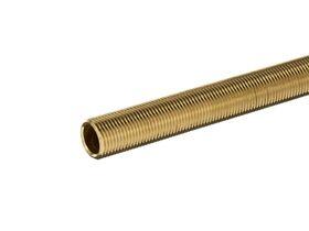Brass Screwed Tube 15mm x 600mm