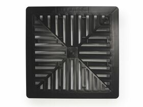 Allproof Domestic Pit 250mm x 250mm Grate Black