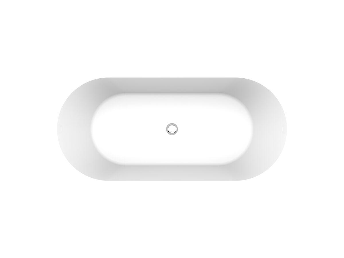 Posh Solus Oval Inset Bath
