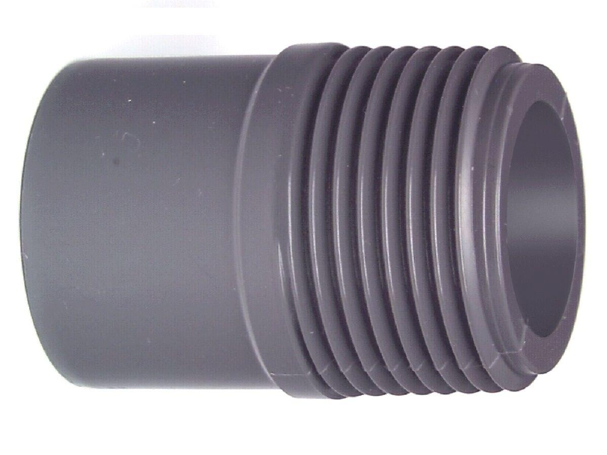 Schedule 80 PVC-U Male Toe Nipple