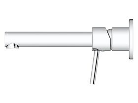 Mizu Drift MK2 Wall Bath Mixer Tap Set 200mm Chrome