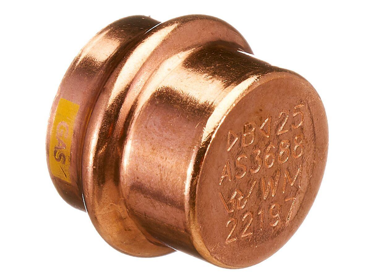>B< Press Gas End Cap 25mm