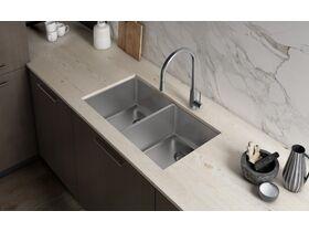 Franke Olten Gooseneck Pullout Sink Mixer Stainless Steel (4 Star)