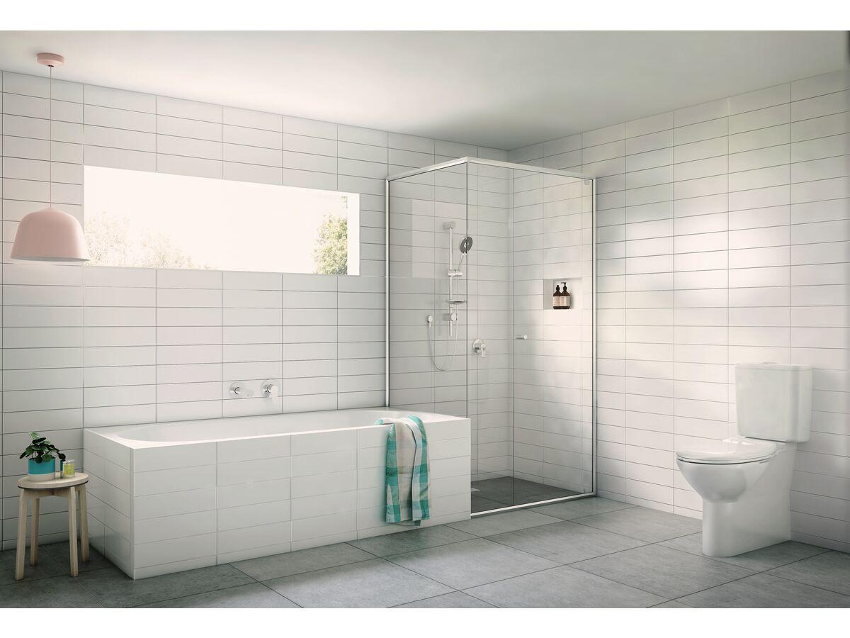 Posh Solus Outlet, Rail Shower, Toilet Suite