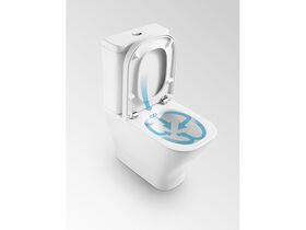 The Gap Rimless Close Coupled Back to Wall Back Inlet Toilet Suite (4 Star)