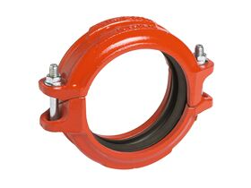 Victaulic Roll Groove Coupling Painted
