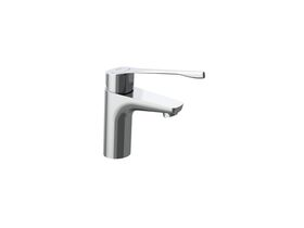 Roca Atlas Basin Mixer with Extended Lever Chrome (5 Star)