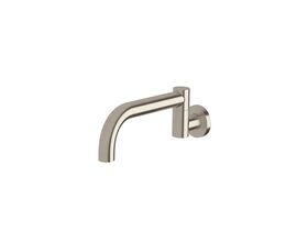 Scala Bath Outlet Swivel Curved 210mm LUX PVD Brushed Oyster Nickel