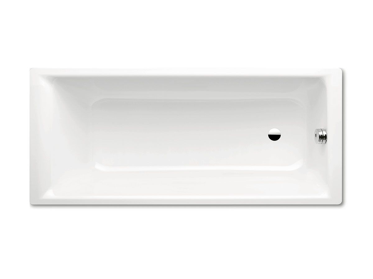Kaldewei Puro Inset Bath 1600mm x 700mm White and Chrome