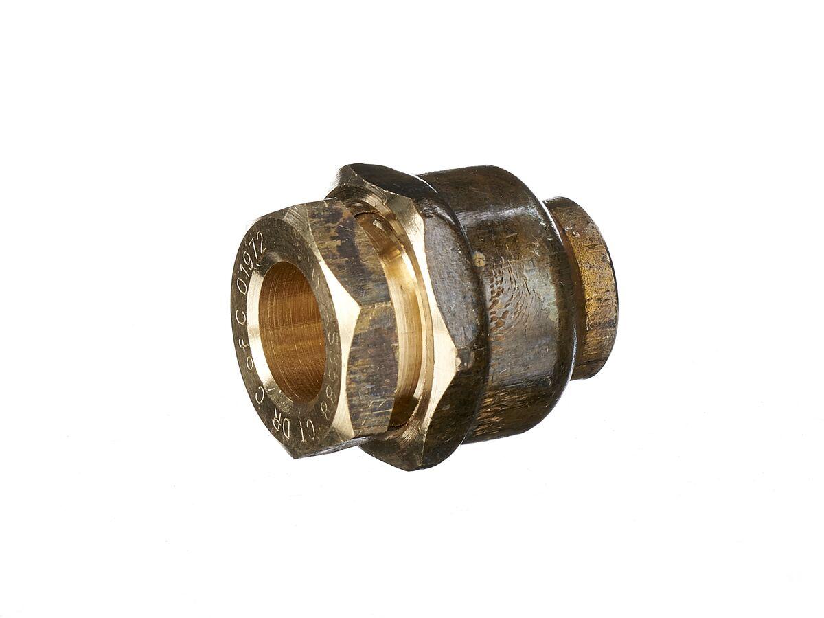 Compression Union Flared 15mm Copper x 15mm Copper