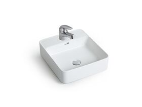 Posh Domaine Counter Basin 1 Taphole White