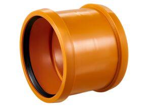Awaduct PP Double Socket Coupler 250mm