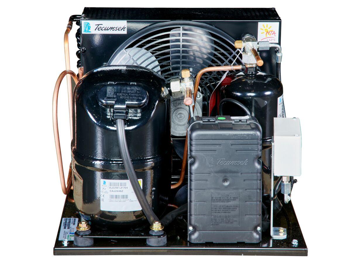 Tecumseh AJ2 HTA Condensing Unit 3/4HP R404 LBP CAJT2446ZBR-FZ-1 with Pressure Control