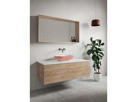 Venice 500 Counter Basin Solid Surface Sofskin Blush