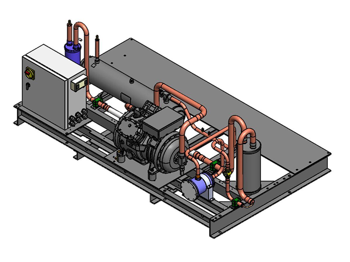 Tecumseh Semihermetic Receiver Unit SHR4615ZHR