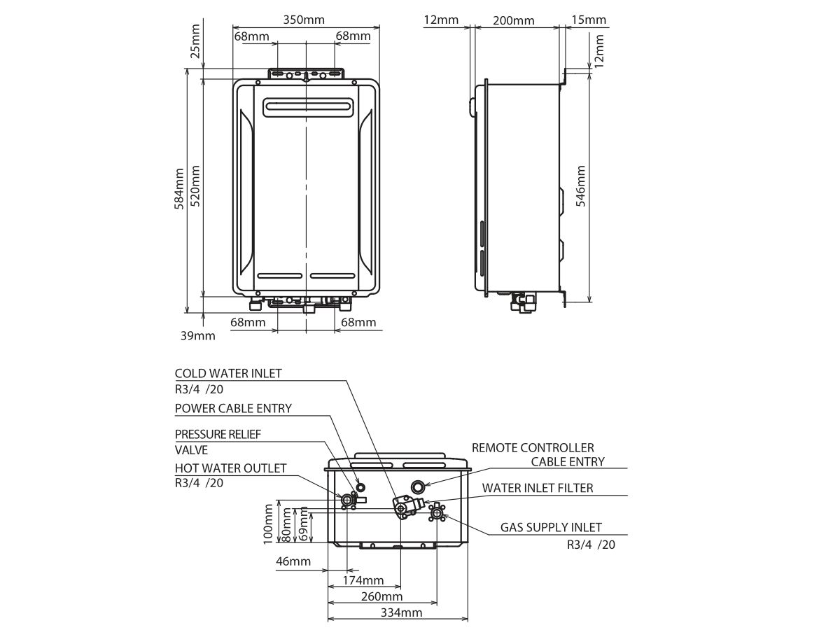 Thermann 6 Star Continuous Flow Hot Water System