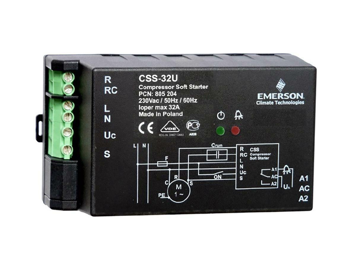 Universal Compressor Soft Start 32AMP
