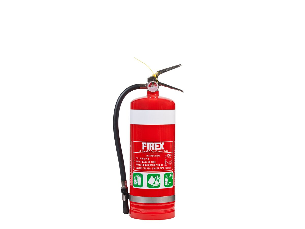 Fire Extingguisher 4.5Kg Dry Chem (4A 60B[E])