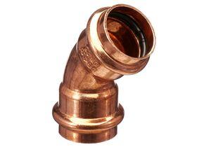 >B< Press Water Elbow 45 Degree x 25mm