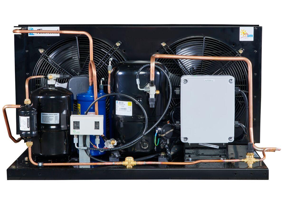 Tecumseh EVO Condensing Unit 3hp R404 MHBP EPCH4540Z-3 Phase
