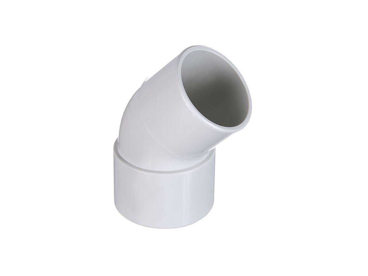 DWV Plain Bend 40mm x 45 Deg Male / Female