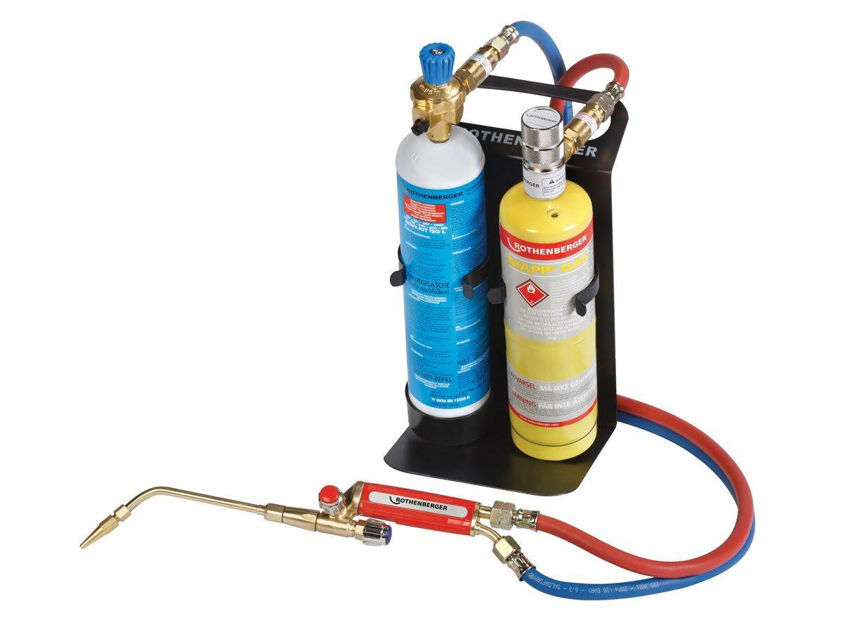 Rothenberger Allgas Map/Oxygen Torch Set M10