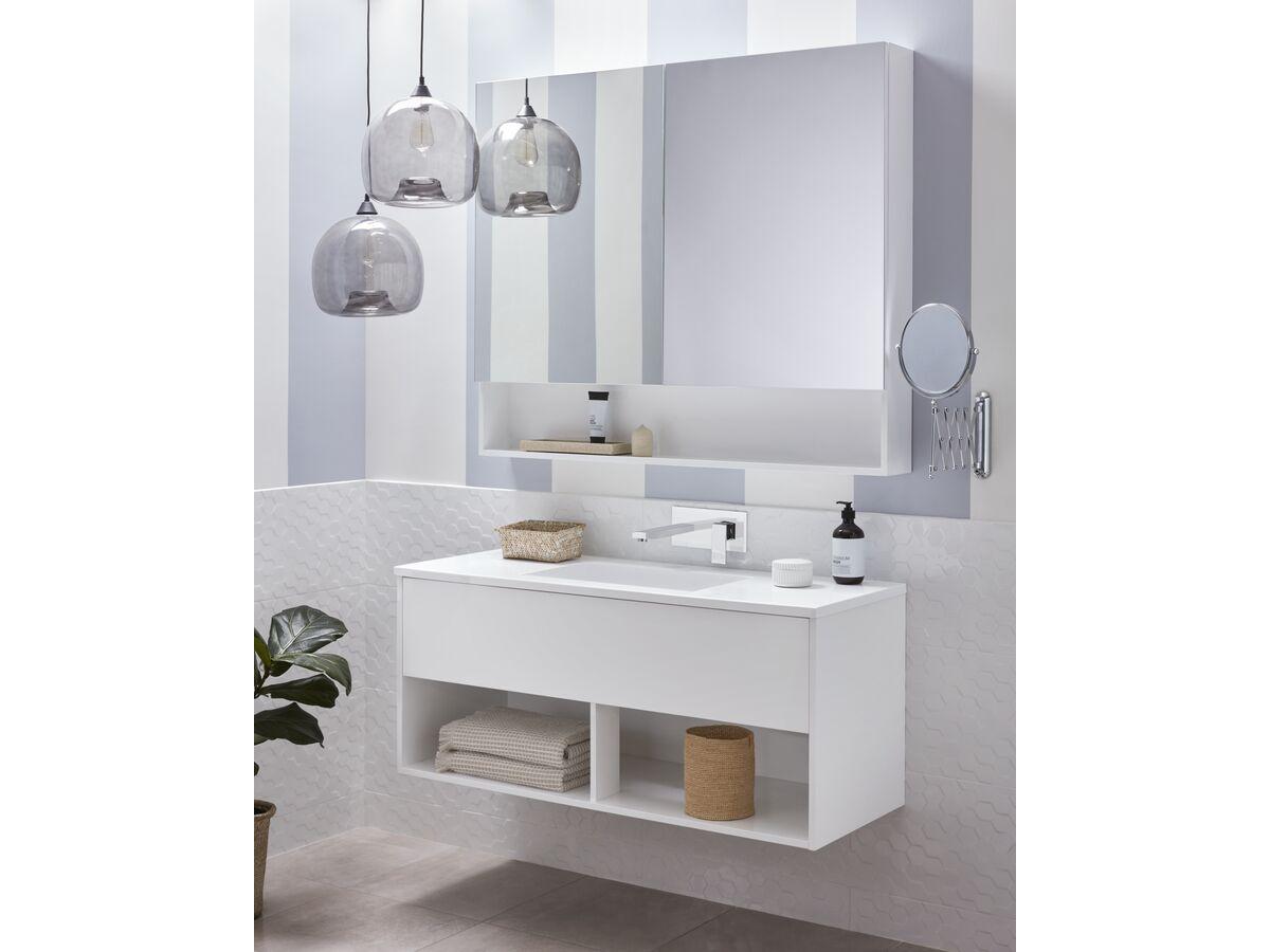 Posh Solus Mirror Cabinet / Vanity Unit