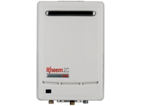 Rheem GCFWH Continuous Flow Hot Water Unit LPG Frost 6 Star 55 degrees 20 Litres