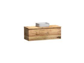 Kado Arc Timber All Drawer 1200 Vanity Timber 32mm Top