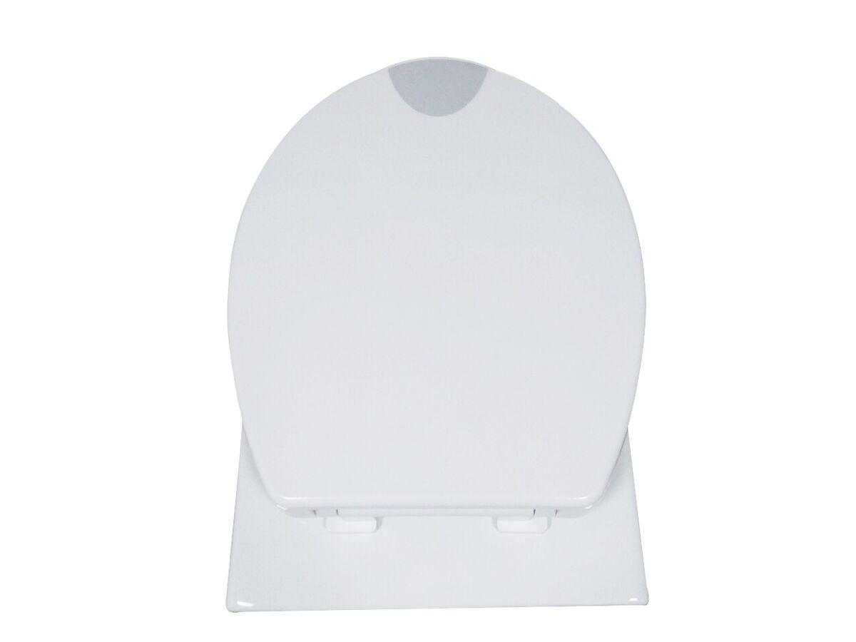 Posh Care Soft Close Toilet Seat White