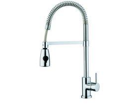 Nobili Oz T7 Pull Down Spray Sink Mixer Chrome (4 Star)