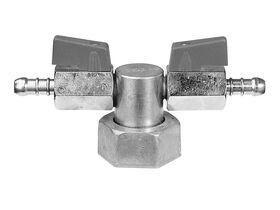 Brass Manometer Gas Test Tee Piece