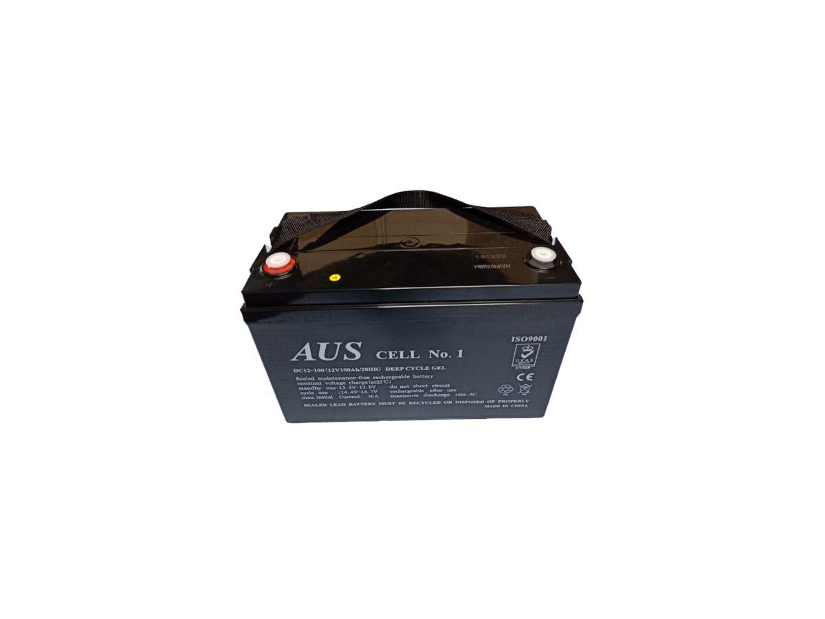 100AH 12VDC DEEP CYCLE Lead Acid Battery