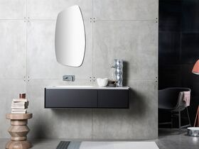 Issy Glide Wall Hung Vanity Unit Single Basin