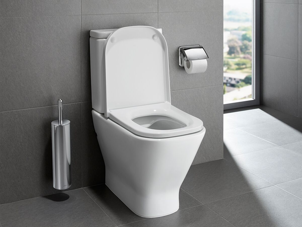 The Gap Rimless Close Coupled Back to Wall Toilet Suite White (4 Star)