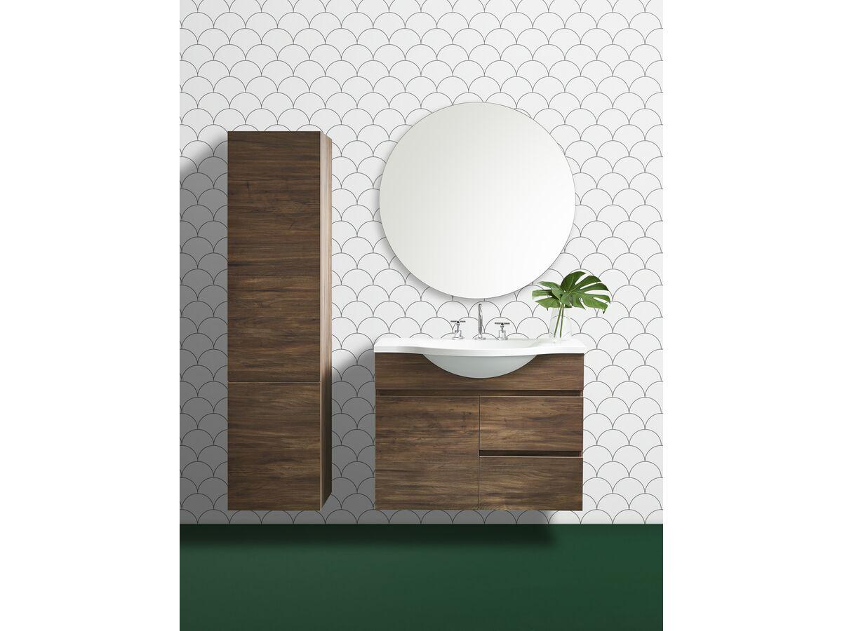 Posh Domaine Round Polished Mirror