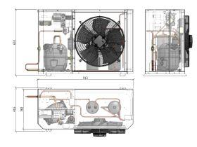 Tecumseh Compac Condensing Unit R134a PACS4492Y 1 Phase