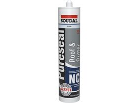 Soudal Pureseal Roof & Gutter Neutral Silicone Clear 300g