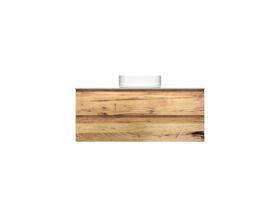 Kado Arc Timber Twin Drawer 1200 Vanity Corian 12mm Top
