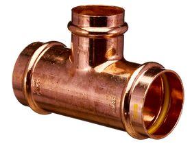 >B< Press Gas Reducing Tee 50mm x 50mm x 40mm