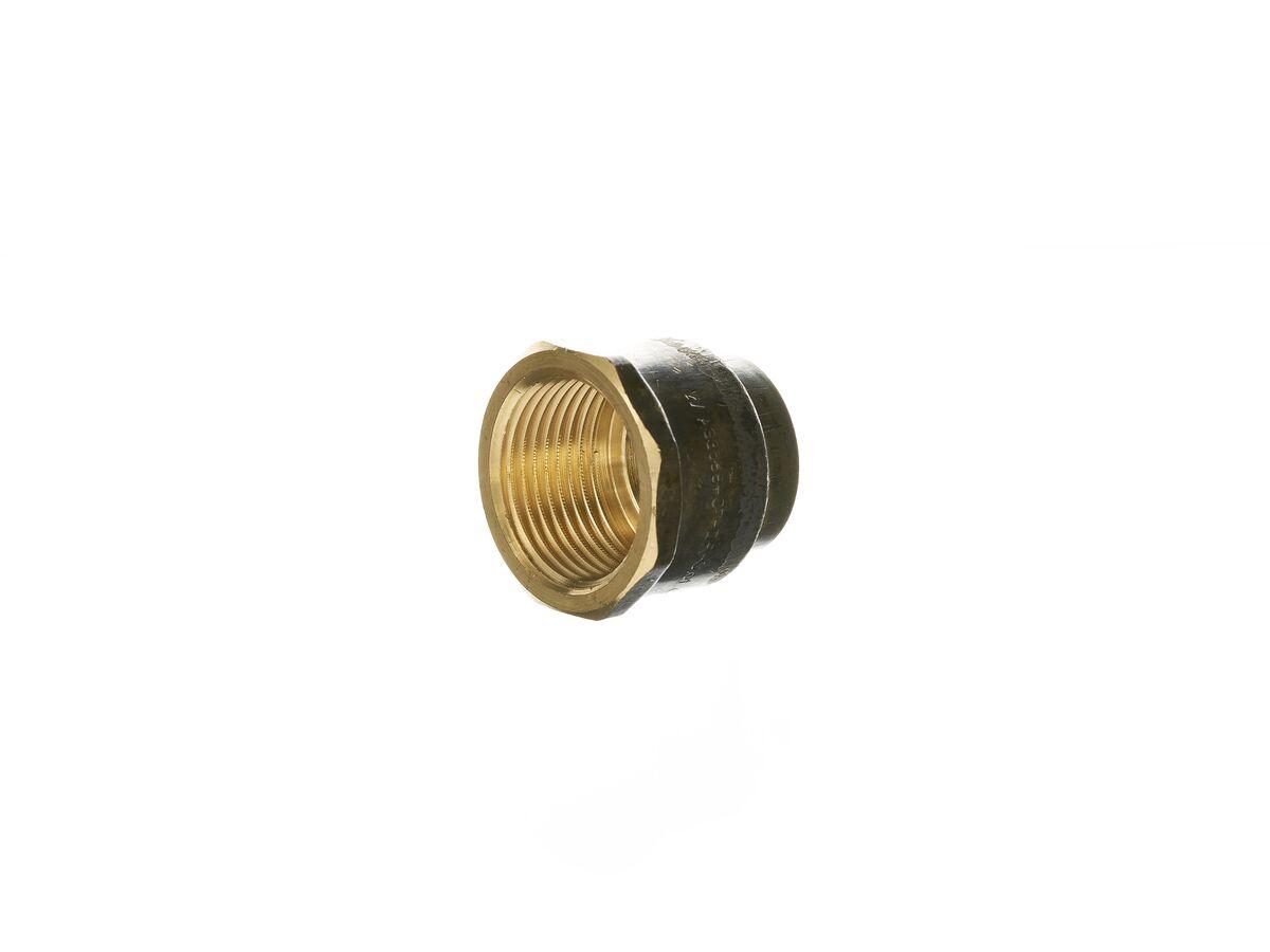 Tube Bush - Female Brass 25mm
